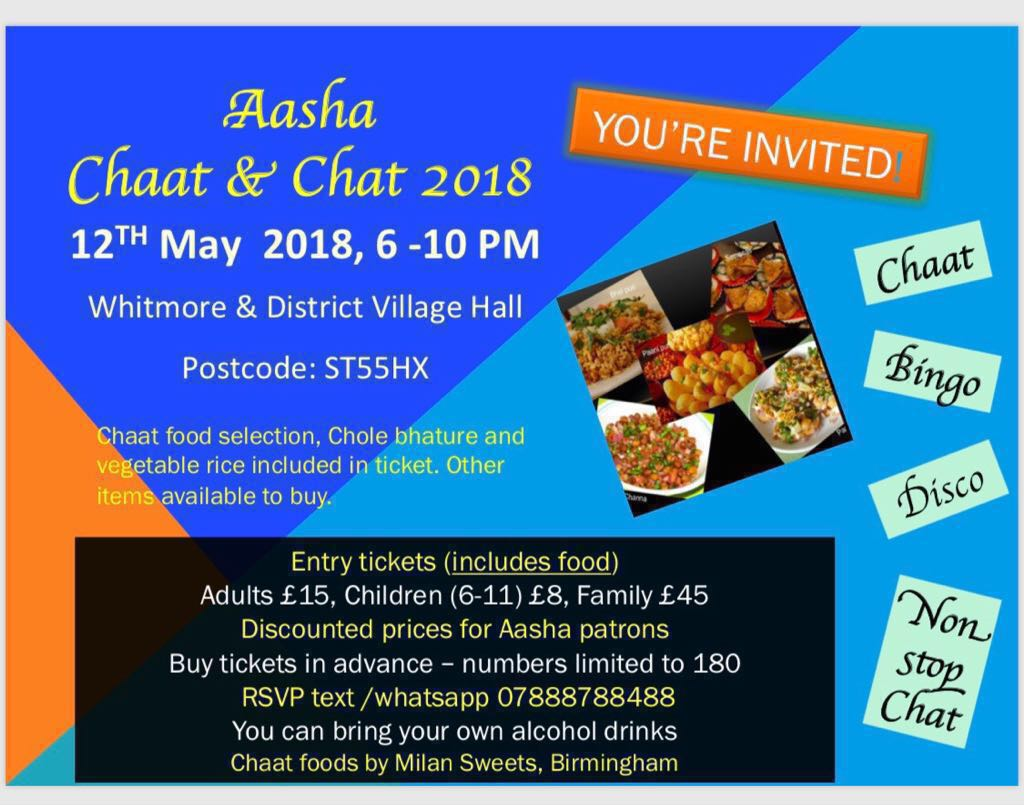 chaat 12th May 2018